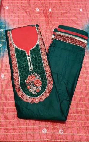 New Style Dupatta Dress Materials- Showroom Quality