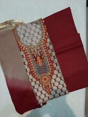 Sayma Trendy Neck Design Salwar Suit- Store Quality