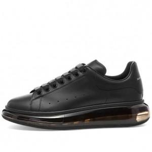 Alexander Mcqueen Sneaker Clear Sole All black
