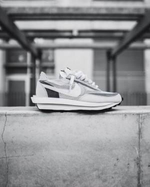 Nike LD Waffle x Sacai White Grey