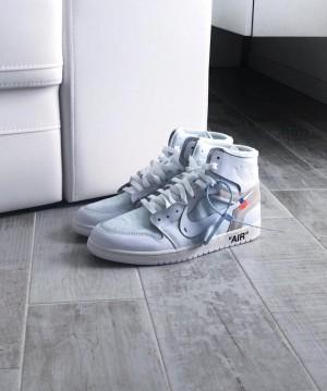 Nike Air Jordan Retro 1 x OffWhite