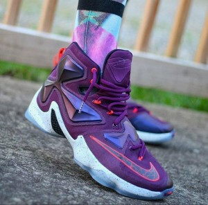 Nike Lebron 13 Mulberry