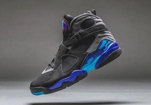 Nike Air Jordan 8 Black Aqua