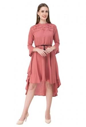 Women s Rayon High Low Dress