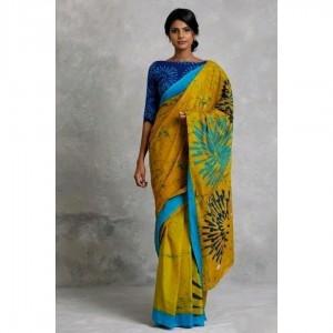 Simple Mulmul Cotton Printed Regular Saree