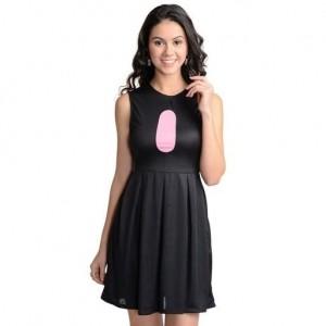 Designer Polyester Women s Solid Dress