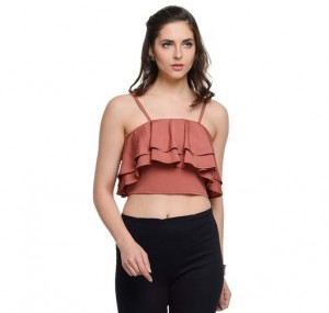 Stylish Polyester Top
