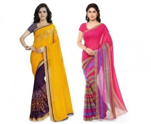 Casual Faux Georgette Sarees