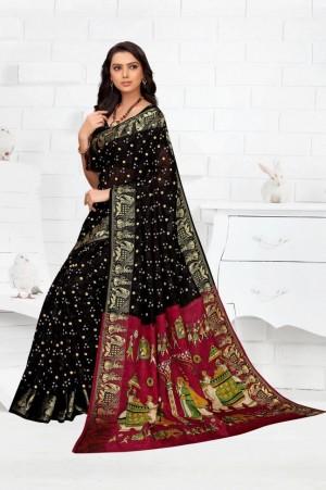 New Launch Women s Silk Saree
