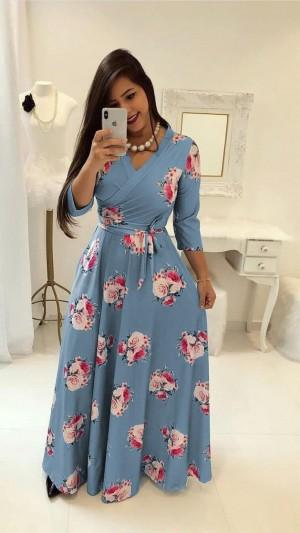Women s New Rayon Printed Dress